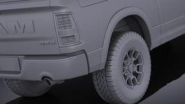 Dodge Ram 1500 Rebel 2015 VRAY Image 11