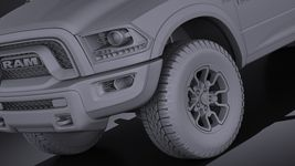 Dodge Ram 1500 Rebel 2015 VRAY Image 10
