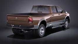 Dodge Ram Heavy Duty 2014 VRAY Image 6