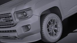 GMC Canyon 2015 VRAY Image 10