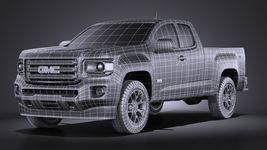 GMC Canyon 2015 VRAY Image 15