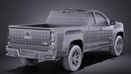 GMC Canyon 2015 VRAY Image 16