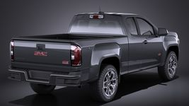 GMC Canyon 2015 VRAY Image 6