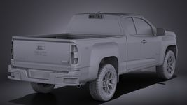 GMC Canyon 2015 VRAY Image 12