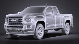 GMC Canyon 2015 VRAY Image 13