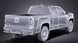 GMC Canyon 2015 VRAY Image 14