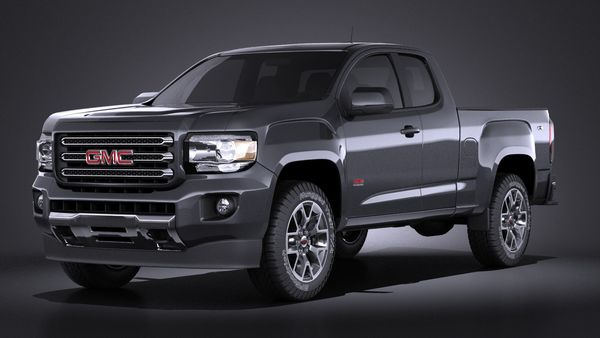 GMC Canyon 2015 VRAY Image 1
