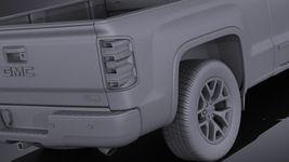 GMC Sierra crew cab 2014 VRAY Image 11