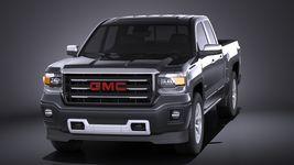 GMC Sierra crew cab 2014 VRAY Image 2