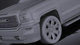 GMC Sierra Denali 2016 VRAY Image 10