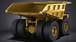 Haul Truck VRAY Image 6