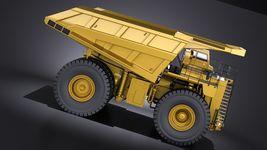 Haul Truck VRAY Image 7
