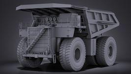 Haul Truck VRAY Image 9