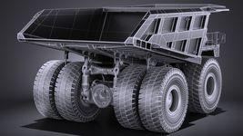 Haul Truck VRAY Image 14