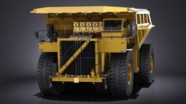 Haul Truck VRAY Image 2