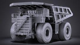 Haul Truck VRAY Image 15