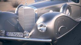 Mercedes 500K Erdmann&Rossi 1936 desert studio Image 3