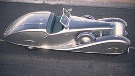Mercedes 500K Erdmann&Rossi 1936 desert studio Image 8