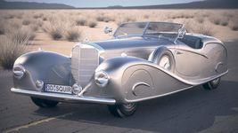 Mercedes 500K Erdmann&Rossi 1936 desert studio Image 1