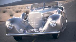 Mercedes 500K Erdmann&Rossi 1936 desert studio Image 2