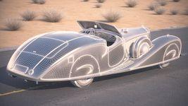 Mercedes 500K Erdmann&Rossi 1936 desert studio Image 14