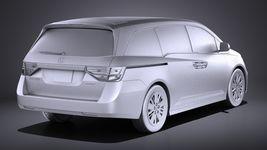 Honda Odyssey 2016 VRAY Image 12