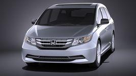 Honda Odyssey 2016 VRAY Image 2