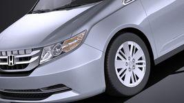 Honda Odyssey 2016 VRAY Image 3