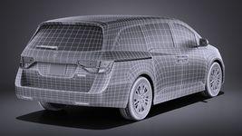 Honda Odyssey 2016 VRAY Image 16