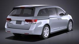 Honda Odyssey 2016 VRAY Image 6