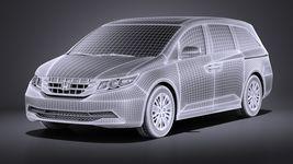 Honda Odyssey 2016 VRAY Image 13