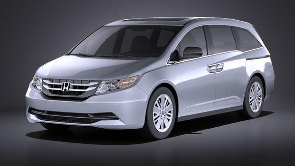 Honda Odyssey 2016 VRAY Image 1