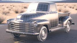 Chevrolet Pickup 1950 DesertStudio Image 15