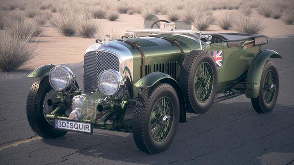 Bentley 4,5 blower 1929 desertstudio Image 24