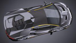 HQ LowPoly Lamborghini Centenario lp 770-4 2017 Image 7