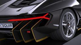HQ LowPoly Lamborghini Centenario lp 770-4 2017 Image 3