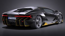 HQ LowPoly Lamborghini Centenario lp 770-4 2017 Image 5