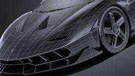 HQ LowPoly Lamborghini Centenario lp 770-4 2017 Image 16