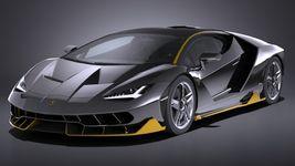 HQ LowPoly Lamborghini Centenario lp 770-4 2017 Image 19