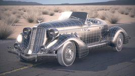 Auburn Speedster 851 - 1935 desert studio Image 16
