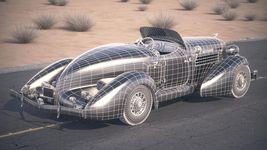 Auburn Speedster 851 - 1935 desert studio Image 17