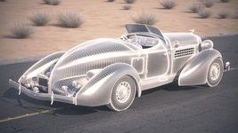 Auburn Speedster 851 - 1935 desert studio Image 15