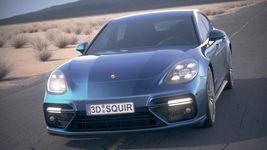 Porsche Panamera Turbo 2017 Desert Studio Image 1