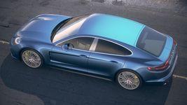 Porsche Panamera Turbo 2017 Desert Studio Image 10