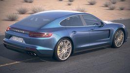 Porsche Panamera Turbo 2017 Desert Studio Image 4