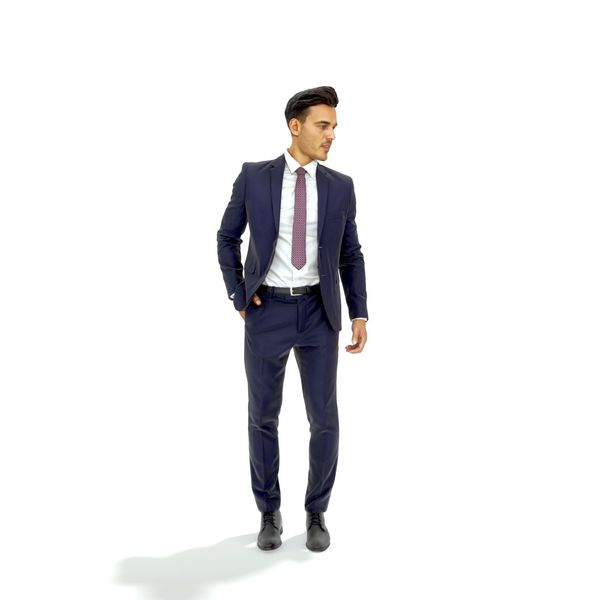 Ready-Posed 3D Humans Image 1