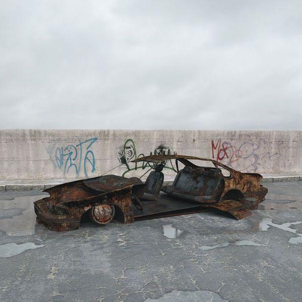 destroyed car 003 am165 Image 1