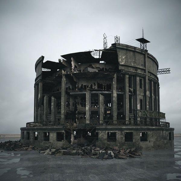 destroyed building 106 am165 Image 1