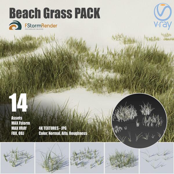 Beach grass pack