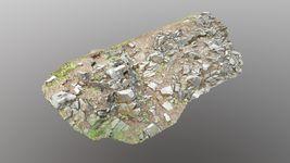 3d scanned cliff face C